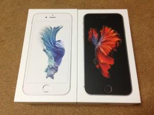 iPhone6S到着