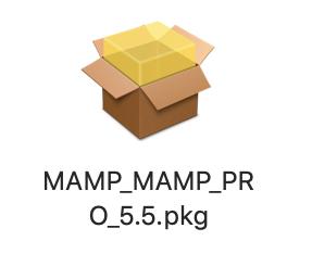 MAMPパッケージ