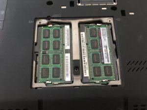 Lenovo X220 メモリ