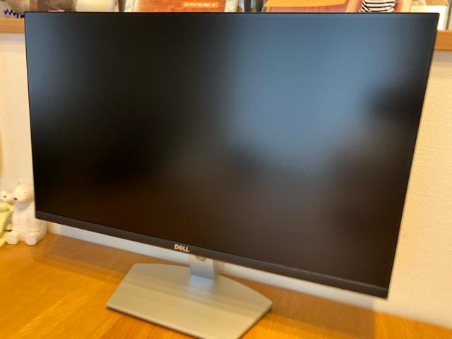 Dell ワイドフレームレスモニター 23.8インチ S2421H 設置