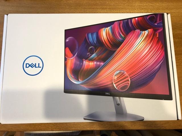 Dell ワイドフレームレスモニター 23.8インチ S2421H