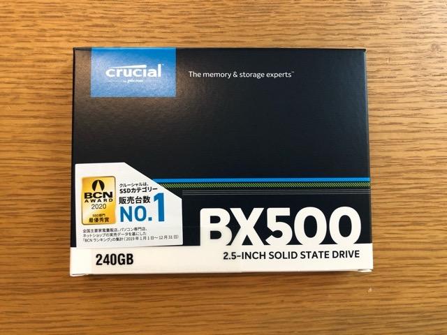 Crucial クルーシャル SSD 240GB
